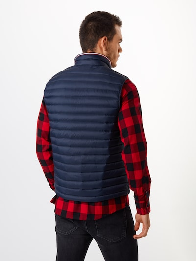TOMMY HILFIGER Weste 'CORE PACKABLE DOWN VEST' in navy: Rückansicht