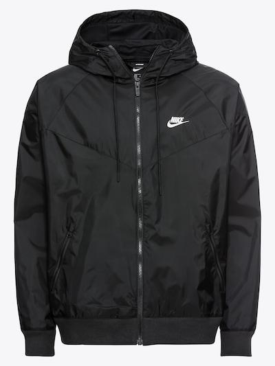 Nike Sportswear Jacke 'M NSW HE WR JKT HD' in schwarz, Produktansicht