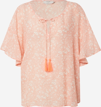Cream Shirt in hellorange, Produktansicht