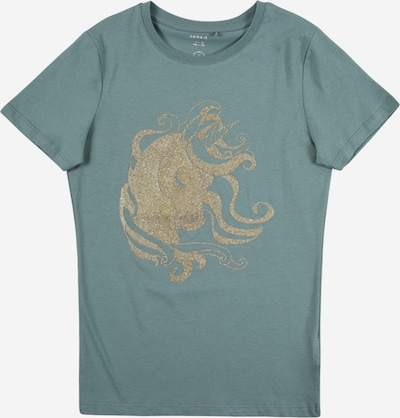 NAME IT T-Shirt in gold / petrol, Produktansicht
