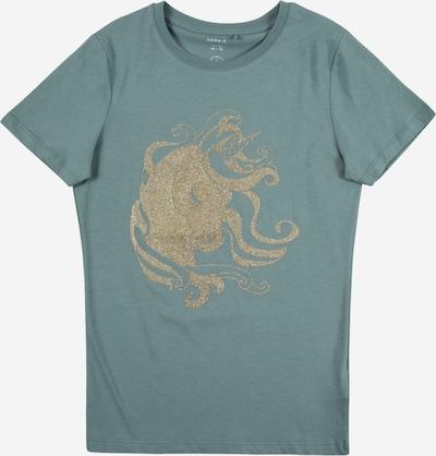 NAME IT Koszulka w kolorze złoty / benzynam: Widok z przodu