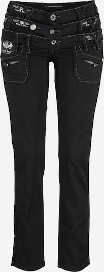 CIPO & BAXX Jeans in schwarz, Produktansicht