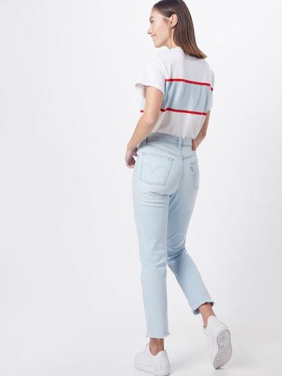 LEVI'S Jeansy '501 CROP' w kolorze niebieski denimm: Widok od tyłu