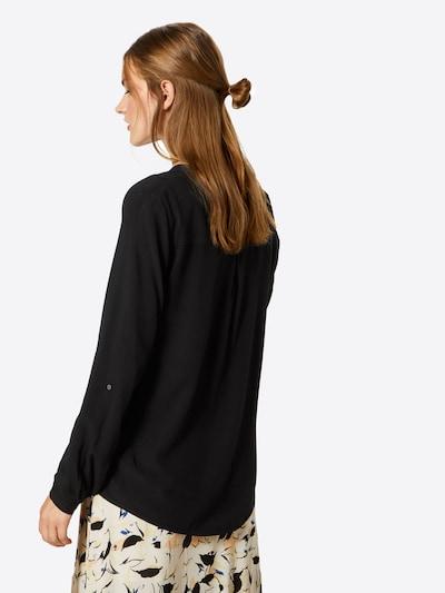 ESPRIT Bluse in schwarz: Rückansicht