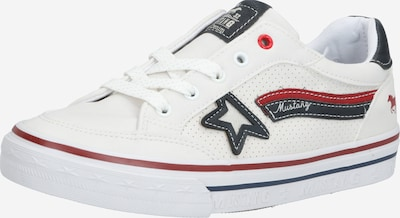 MUSTANG Brīvā laika apavi pieejami balts, Preces skats