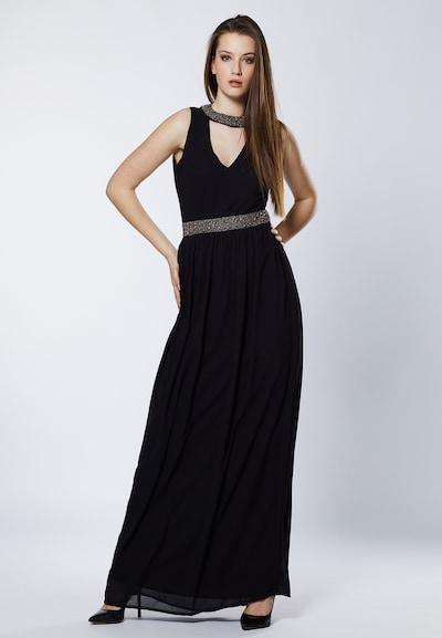 Young Couture by BARBARA SCHWARZER Avondjurk in de kleur Zwart: Vooraanzicht