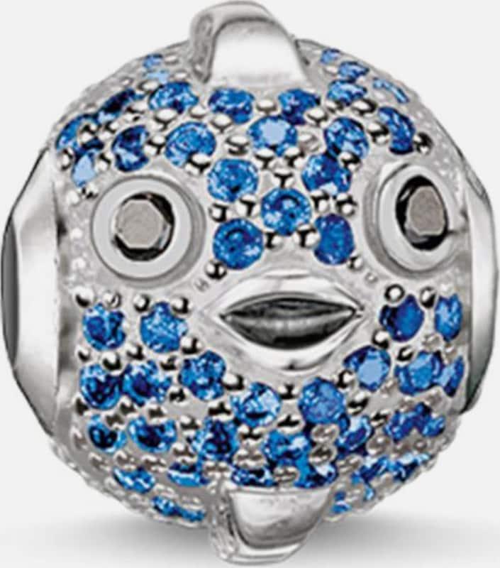 Thomas Sabo Bead 'Karma Bead, Blauer Kugelfisch Fugu, K0149-667-31'