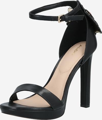 ALDO Sandalette 'VALENTINI' in schwarz, Produktansicht