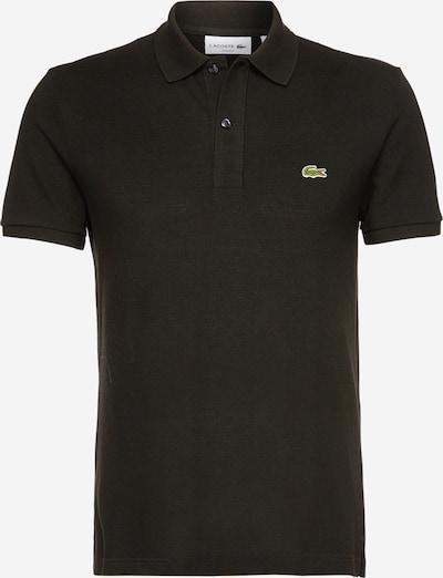 Tricou LACOSTE pe negru, Vizualizare produs
