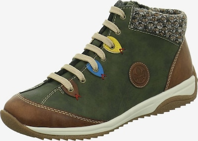 RIEKER Sneakers in ocker / khaki, Produktansicht