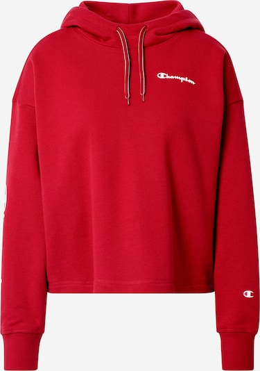 Champion Authentic Athletic Apparel Sweater majica u boja vina / bijela, Pregled proizvoda