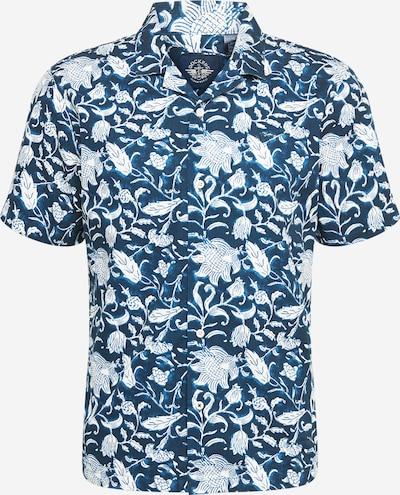 Dockers Chemise en bleu marine / blanc, Vue avec produit