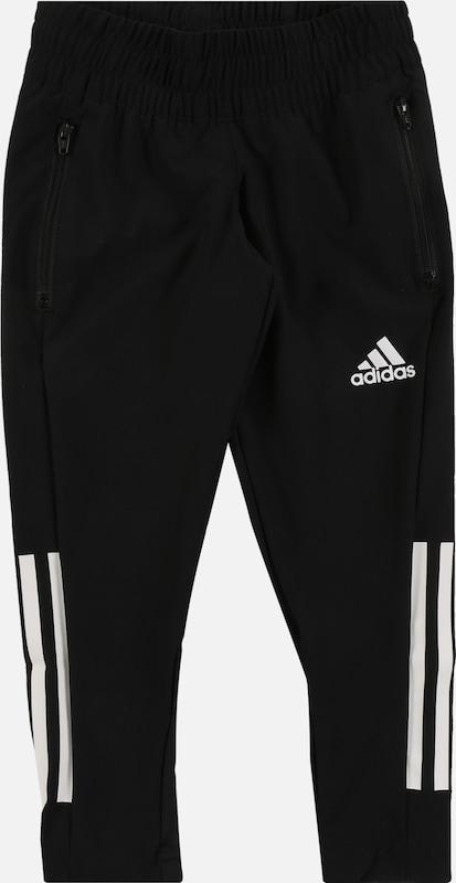 adidas performance 3 4 sporthose für mädchen 164 pink