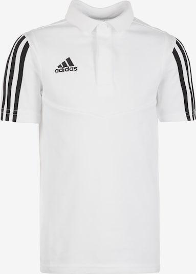 ADIDAS PERFORMANCE Poloshirt 'Tiro 19' in schwarz / weiß, Produktansicht