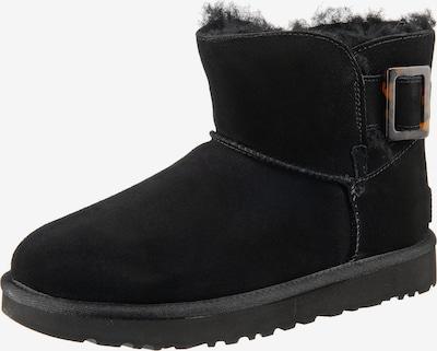 UGG Winterstiefeletten 'Mini Bailey Fashion Buckle' in schwarz, Produktansicht