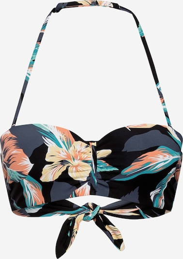 ROXY Bikinitop in anthrazit / mischfarben, Produktansicht