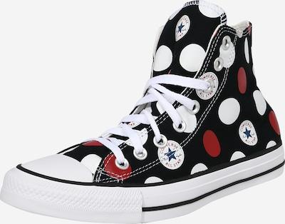 CONVERSE Sneaker 'CTAS HI' in navy / blutrot / schwarz / weiß, Produktansicht