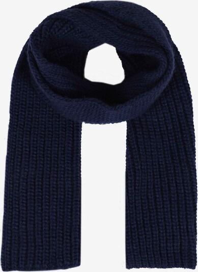 Zwillingsherz Sjaal in de kleur Marine, Productweergave