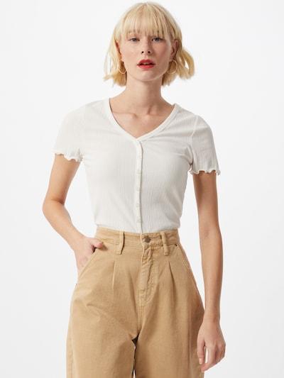 NEW LOOK Majica 'VARI' | off-bela barva, Prikaz modela