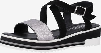 IGI&CO Sandalen in schwarz / silber, Produktansicht