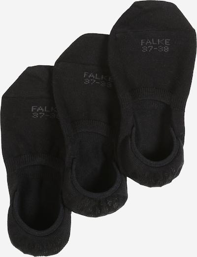 FALKE Calcetines invisibles 'Step 3-Pack' en negro, Vista del producto