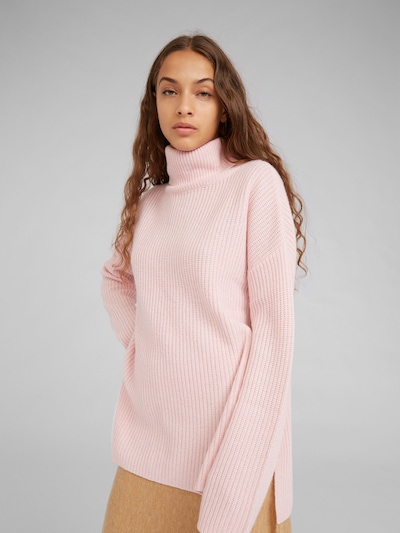rózsaszín EDITED Pulóver 'Allegra', Modell nézet