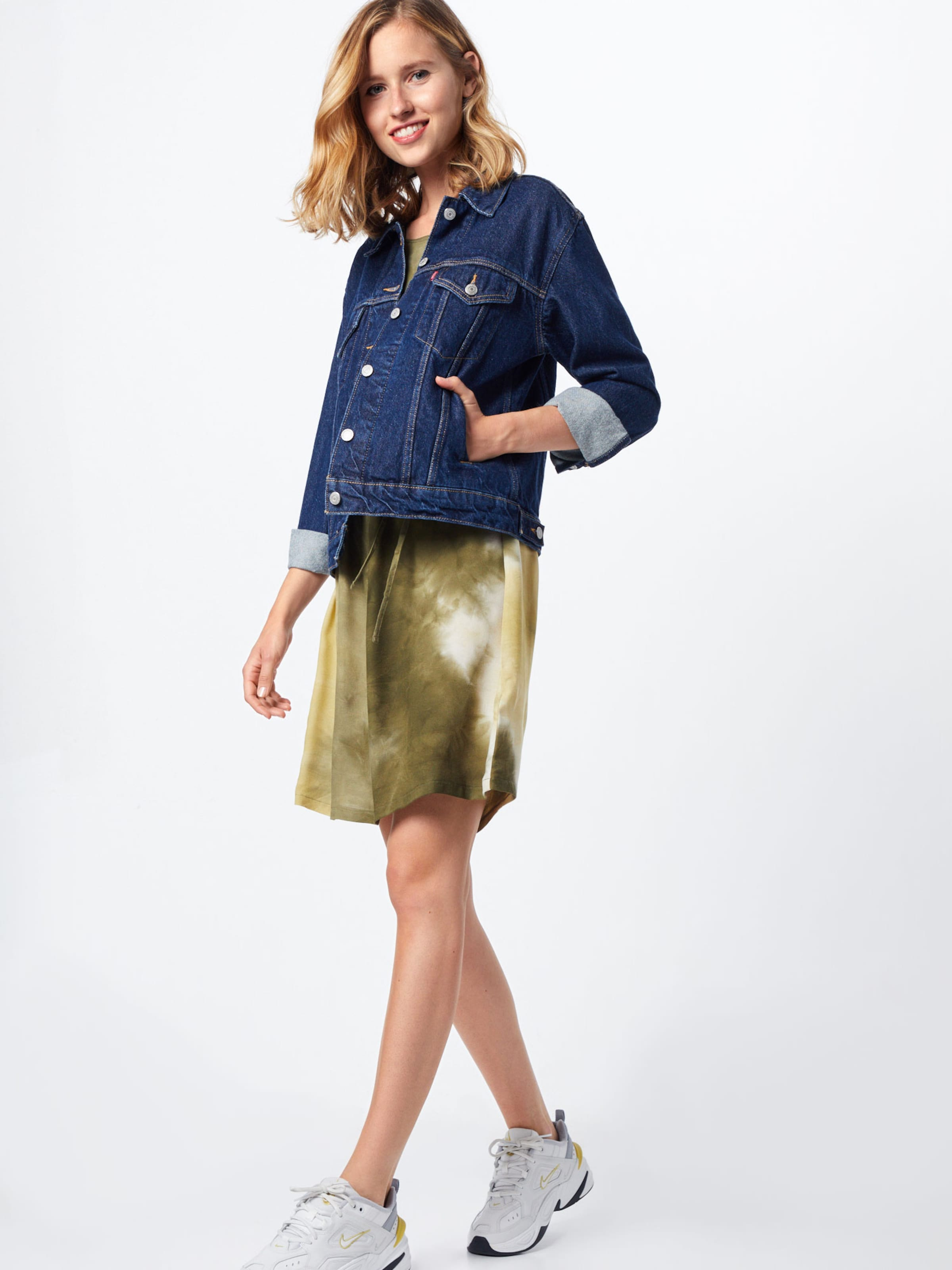ABOUT YOU Kleid 'Else' in khaki / mischfarben