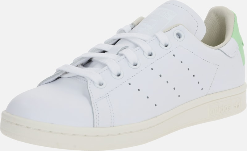 ADIDAS ORIGINALS Baskets basses 'Stan Smith' en vert / blanc, Vue avec produit