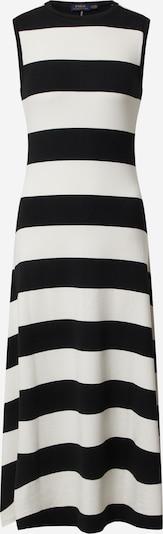 POLO RALPH LAUREN Obleka | črna / bela barva, Prikaz izdelka