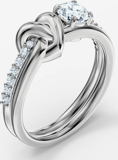 "Swarovski Swarovski Fingerring ""Lifelong Heart"" in grau / weiß, Produktansicht"