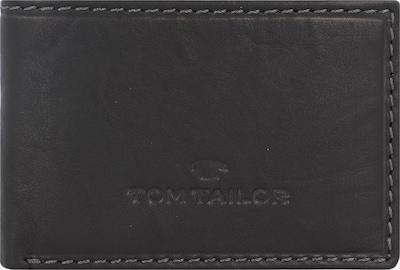 TOM TAILOR Portemonnee 'Lary' in de kleur Zwart, Productweergave