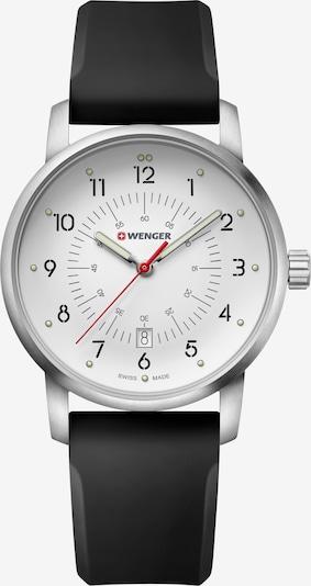 WENGER Uhr 'Avenue' in schwarz / silber / weiß, Produktansicht