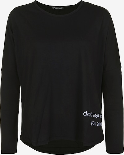 PAUL X CLAIRE Longsleeve 'DON'T LOOK BACK' in schwarz, Produktansicht