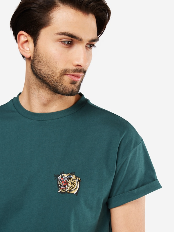 NEW LOOK T-Shirt 'RP 39 27.10 MW EMBROIDERED TIGER'