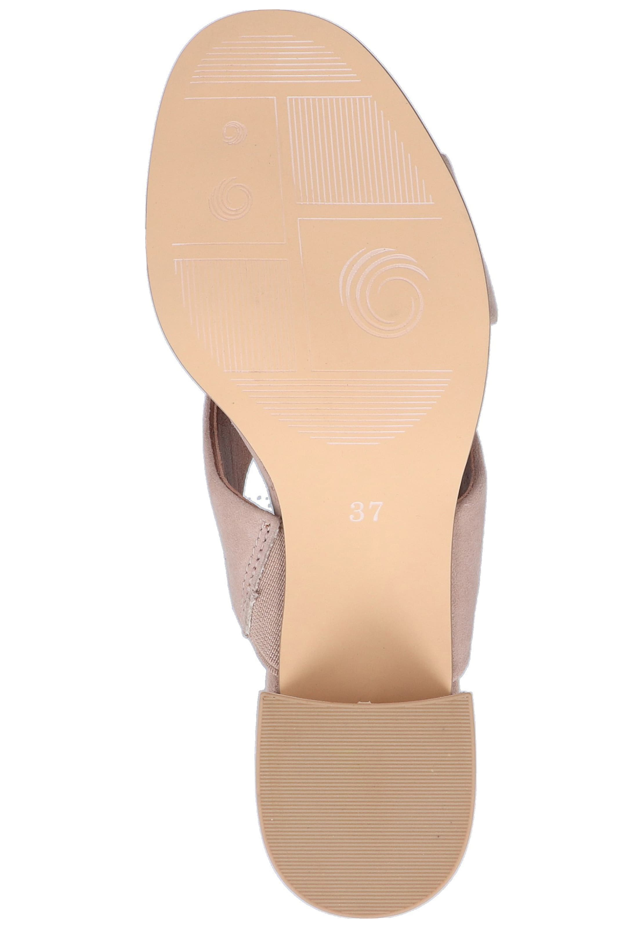 In Be Be Natural Pantolette Pantolette In Taupe Natural Taupe CrxdeBo