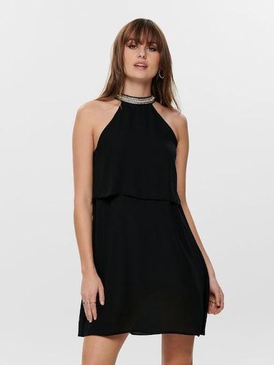 ONLY Kleid in schwarz / silber, Modelansicht