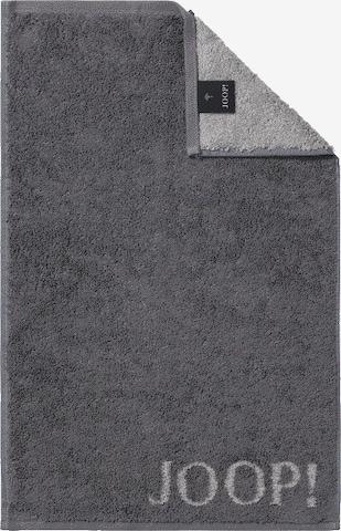 JOOP! Towel 'Doubleface' in Grey