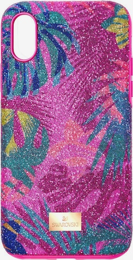 Swarovski Smartphonehülle 'Tropical' in mischfarben / fuchsia, Produktansicht