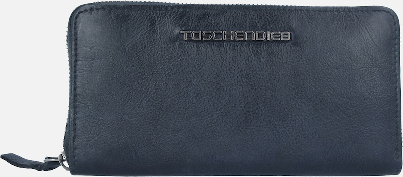 Taschendieb Wien Geldbörse Leder 20 cm