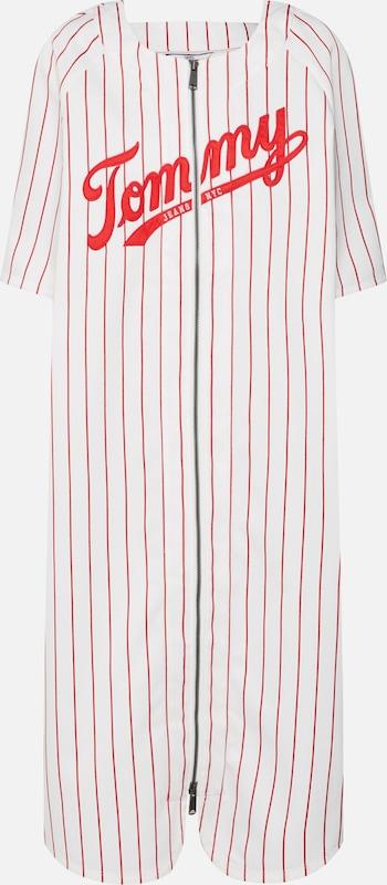 Robe ' Baseball' Jeans RougeBlanc Tommy En BdxerCo