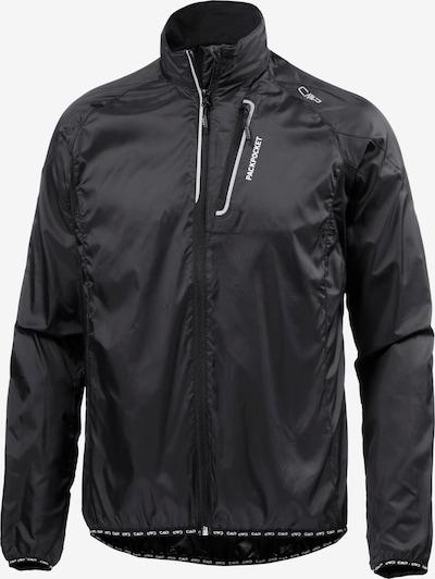 CMP Fahrradjacke 'Trail Jacket' in schwarz, Produktansicht