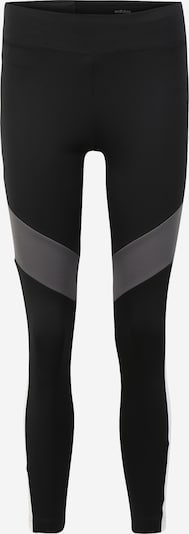 ADIDAS PERFORMANCE Tights in grau / schwarz / weiß, Produktansicht