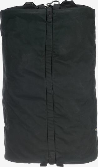Fjällräven Kofferrucksack in schwarz, Produktansicht