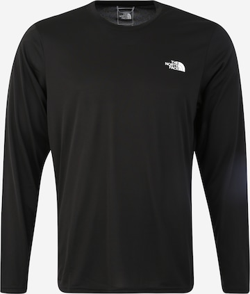 THE NORTH FACE Funktionsshirt 'Reaxion Amp' in Schwarz