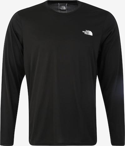 THE NORTH FACE Functioneel shirt 'Men's Reaxion Amp L/S Crew' in de kleur Zwart, Productweergave