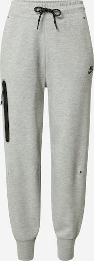 Nike Sportswear Sweathose in graumeliert / schwarz, Produktansicht
