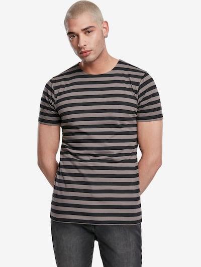 Urban Classics T-Krekls, krāsa - pelēks / melns: Priekšējais skats