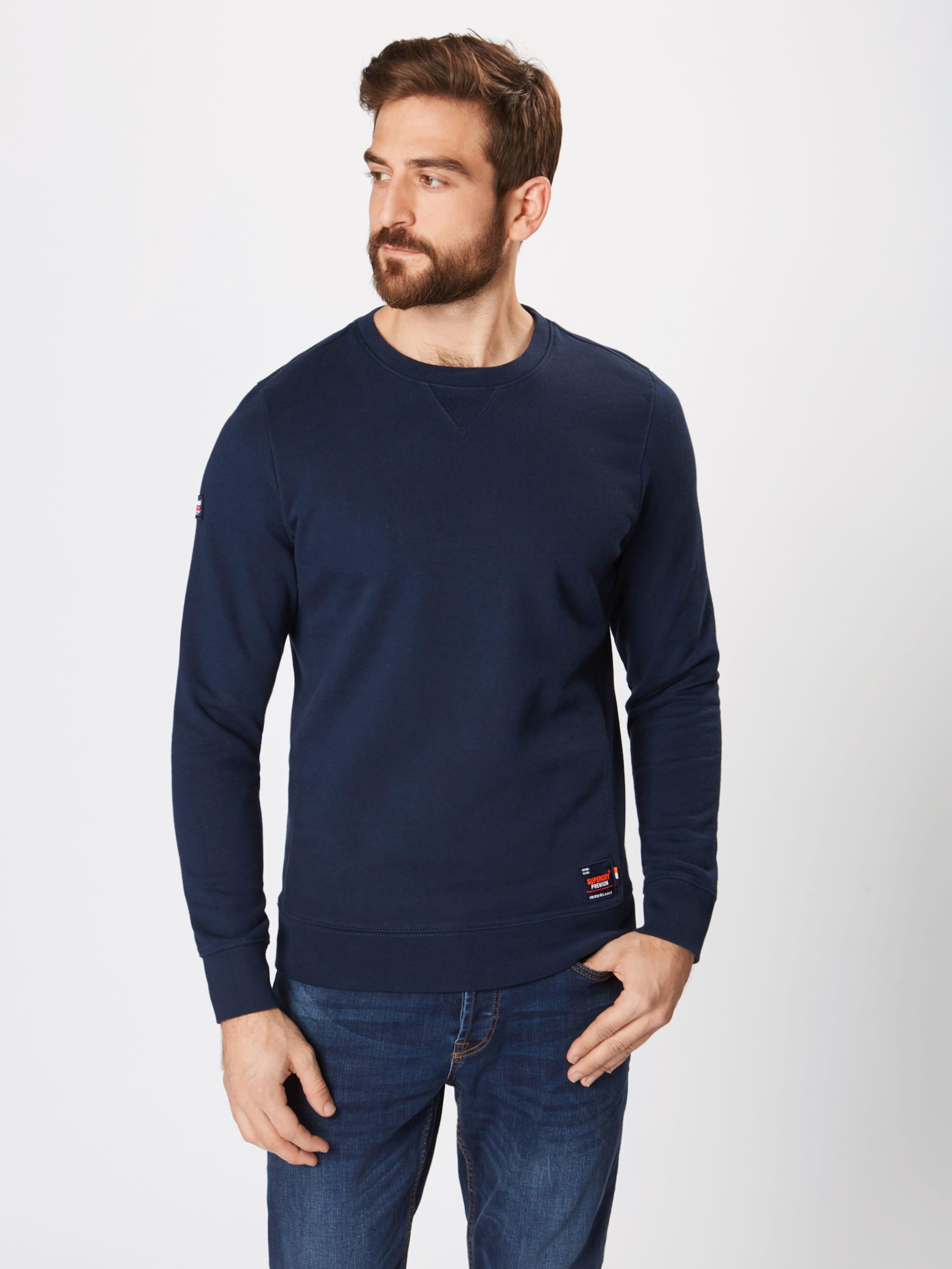 Crew Navy 'dry In Sweat' Superdry Originals Sweatshirt PTOXZuki