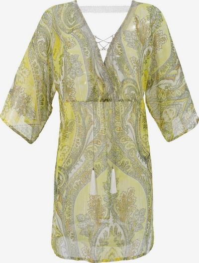 Aniston CASUAL Tunika in gelb / hellgrün / offwhite, Produktansicht