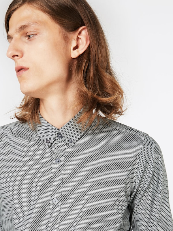 TOM TAILOR Gemustertes Hemd 'Floyd soft print mix shirt'